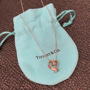 Tiffany & Co Paloma Picasso Heart Necklace